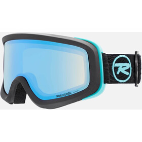 Rossignol Ace HP Goggles Dames, black cylindrical